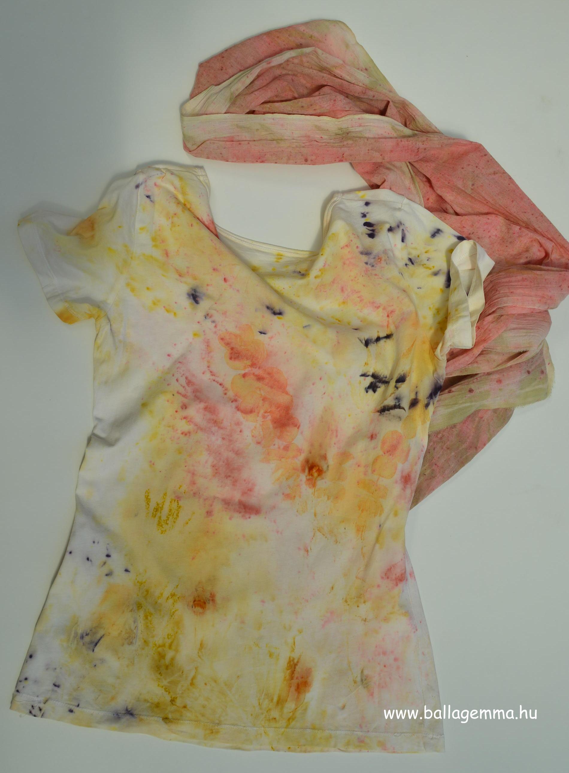 ecoprint póló